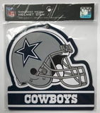 "Dallas Cowboys NFL Embossed Heavy-Duty Metal Helmet Sign 8""x8"""