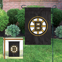 Boston Bruins Embroidered Weather Resistant Nylon Mini Flag 15