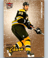 2008-09 Ultra Gold Medallion #10 Zdeno Chara NM-MT Hockey NHL Bruins 04282