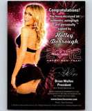 (HCW) 2012 Bench Warmer Playboy New Year Holley Dorrough Autograph 04298