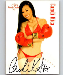 (HCW) 2003 Bench Warmer Candi Kita Authentic Autograph 04321