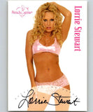 (HCW) 2003 Bench Warmer Lorrie Stewart Authentic Autograph 04322