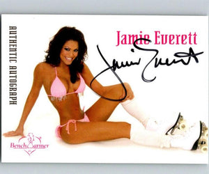 (HCW) 2003 Bench Warmer Jamie Everett Authentic Autograph 04325