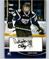 2013-14 ITG Heroes and Prospects Autographs #ADO Dakota Odgers 04344