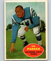 1960 Topps #5 Jim Parker NM Near Mint Football NFL Colts Football Vintage 04363