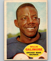 1960 Topps #14 Willie Galimore NM Near Mint Football NFL Bears Vintage 04364