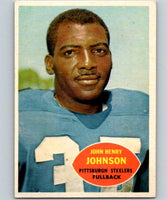 1960 Topps #94 John Henry Johnson NM Near Mint Football NFL Steelers Vintage 04366