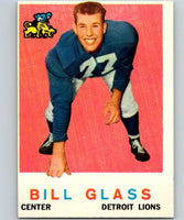 1959 Topps #122 Bill Glass Football NFL RC Rookie Lions Vintage 04375