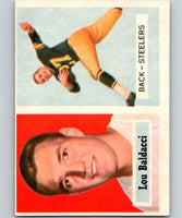 1957 Topps #4 Lou Baldacci Football NFL RC Rookie Steelers Vintage 04388