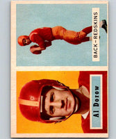 1957 Topps #24 Al Dorow Football NFL Redskins Vintage 04391