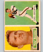1957 Topps #40 Pete Brewster Football NFL Browns Vintage 04394