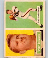 1957 Topps #40 Pete Brewster Football NFL Browns Vintage 04395