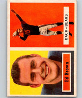 1957 Topps #43 Ed Brown Football NFL Bears Vintage 04396