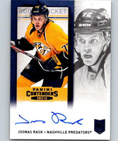 2013-14 Playoff Contenders Rookie Ticket Signatures #159 Joonas Rask 04418