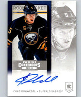 2013-14 Playoff Contenders Rookie Ticket Signatures #279 Chad Ruhwedel 04421