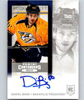 2013-14 Playoff Contenders Rookie Ticket Signatures #280 Daniel Bang 04422