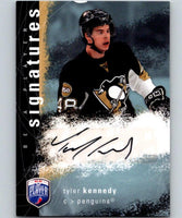 2007-08 Upper Deck Be A Player Signatures #SKE Tyler Kennedy Auto 04429