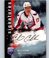 2007-08 Upper Deck Be A Player Signatures #SCC Chris Clark Auto 04431