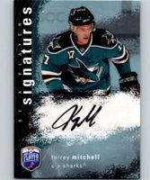 2007-08 Upper Deck Be A Player Signatures #STM Torrey Mitchell Auto 04432