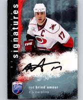 2007-08 Upper Deck Be A Player Signatures #SRB Rod Brind'Amour Auto 04434
