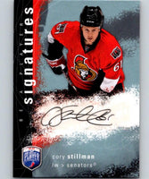 2007-08 Upper Deck Be A Player Signatures #SCS Cory Stillman Auto 04435