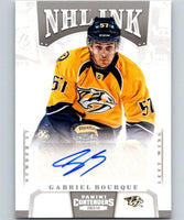 2013-14 Playoff Contenders NHL Ink #57 Gabriel Bourque Auto 04436