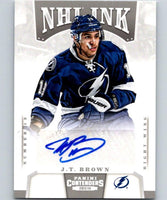 2013-14 Playoff Contenders NHL Ink J.T. Brown Hockey NHL Auto 04439
