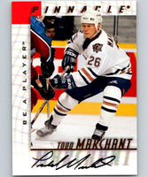 1997-98 Be A Player Autographs Todd Marchant Hockey NHL Auto 04471