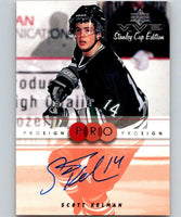 1999-00 Upper Deck MVP SC Edition ProSign Scott Kelman Auto 04476