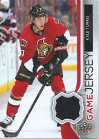 2014-15 Upper Deck Game Jerseys #GJ-KT Kyle Turris NHL Hockey 04482