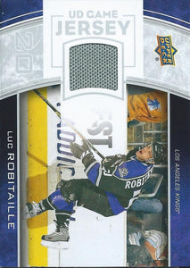 2013-14 Upper Deck UD Game Jersey #GJ-LR Luc Robitaille NHL Hockey 04523