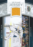 2013-14 Upper Deck UD Game Jersey #GJ-RY Ryan Miller NHL Hockey 04525