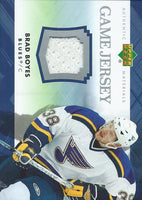 2007-08 Upper Deck Game Jerseys #JBB Brad Boyes NHL Hockey 04534