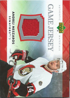2007-08 Upper Deck Game Jerseys #JME Andrej Meszaros NHL Hockey 04546