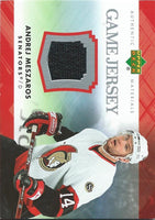 2007-08 Upper Deck Game Jerseys #JME Andrej Meszaros NHL Hockey 04547