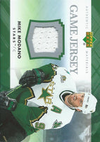 2007-08 Upper Deck Game Jerseys #JMM Mike Modano NHL Hockey 04549