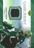 2007-08 Upper Deck Game Jerseys #JMT Marty Turco NHL Hockey 04554