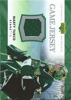 2007-08 Upper Deck Game Jerseys #JMT Marty Turco NHL Hockey 04555