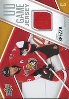 2011-12 Upper Deck Game Jerseys #GJJS Jason Spezza Hockey NHL 04568