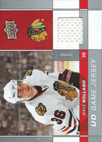 2009-10 Upper Deck Game Jerseys #GJDB Dave Bolland NHL Hockey 04575