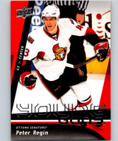 2009-10 Upper Deck #224 Peter Regin NHL RC Rookie Young Guns YG 04597