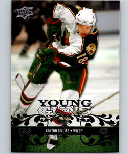 2008-09 Upper Deck #224 Colton Gillies NHL RC Rookie Young Guns YG 04616