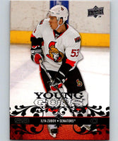2008-09 Upper Deck #232 Ilya Zubov NHL RC Rookie Young Guns YG 04620