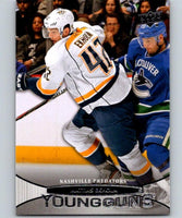 2011-12 Upper Deck #480 Mattias Ekholm NHL RC Rookie Young Guns YG 04636