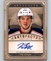 2013-14 Upper Deck Artifacts Autofacts #A-TE Tim Erixon NHL Auto 04640