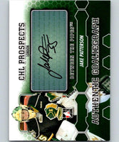 2012-13 Between The Pipes Autographs #AJPAT Jake Patterson Auto 04663