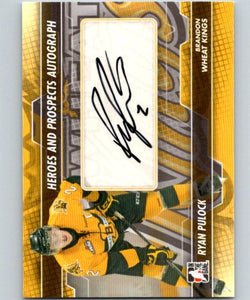 2013-14 ITG Heroes and Prospects Autographs #ARP Ryan Pulock Auto 04701