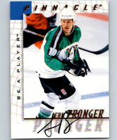 1997-98 Be A Player Autographs #132 Sean Pronger NHL Auto 04703