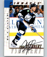 1997-98 Be A Player Autographs #163 Paul Ysebaert NHL Auto Lightning 04709
