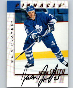 1997-98 Be A Player Autographs #191 Jason Smith NHL Auto Maple Leafs 04711
